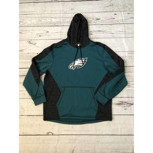 Philadelphia Eagles NFL Team Apparel Hoodie XL
